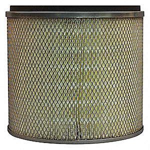 Air Filter,Element Only,11in.H.