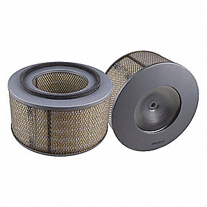 Air Filter,Axial,7-1/2in.H.