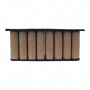 Air Filter,Multiple Tube,8-3/16in.H.