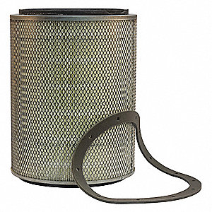 Air Filter,Element Only,17in.H.
