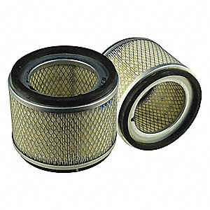 Air Filter,Element Only,5-7/16in.H.