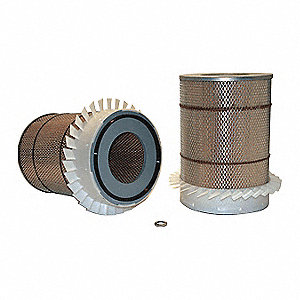 "Air Filter, Round, 13-1/2"" Height, 9-3/16"" Outside Dia."