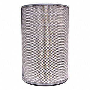 "Air Filter, Round, 18-1/2"" Height, 12-1/16"" Outside Dia."