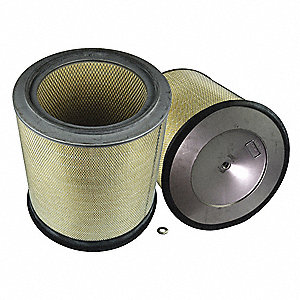 Air Filter,Element Only,19-1/2in.H.