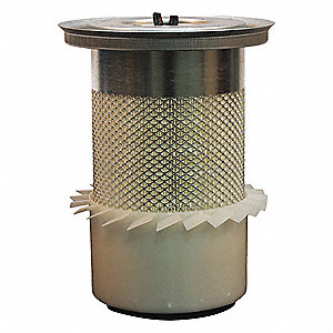 Air Filter,Element Only,11-1/8in.H.