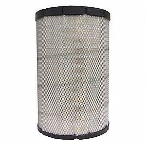 "Air Filter, Radial, 17-1/2"" Height, 11-1/16"" Outside Dia."