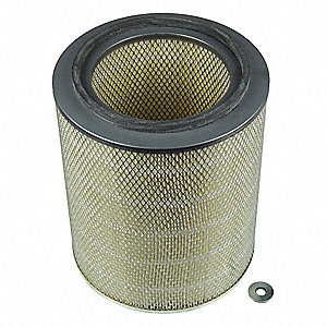 Air Filter,Axial,14-1/2in.H.