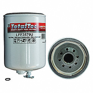 Fuel Filter,6-5/8in.H.4-1/4in.dia.