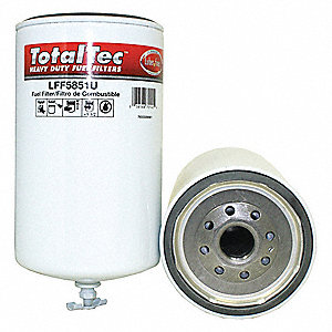 Fuel Filter,8-5/16in.H.4-1/4in.dia.