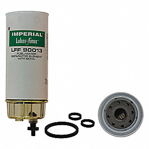 Fuel Filter,10-5/8in.H.3-3/4in.dia.