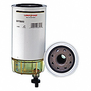 Fuel Filter,8-3/4in.H.3-3/4in.dia.