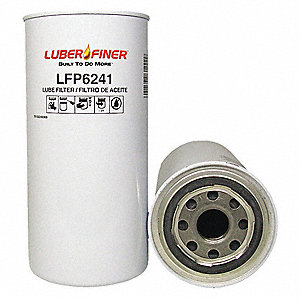 Spin-On Oil Filter, Outside Dia.: 3-13/16""
