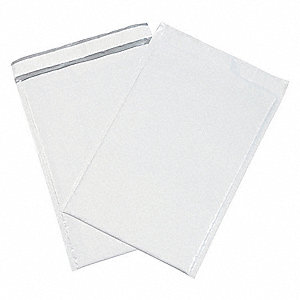Mailer Envelope,White,9-1/2 in. W,PK25