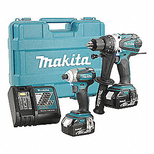 2PC KIT 18V HAMMERDRILL/IMPACT