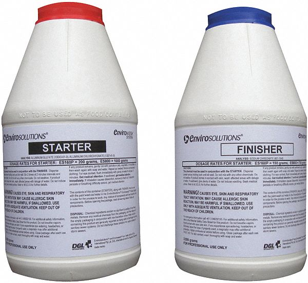 4000g/3000g Paint Flocculation Agent; For Use With Mfr. No. 51608