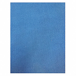 "Indoor Entrance Mat, 60 ft. L, 4 ft. W, 3/8"" Thick, Rectangle, Navy"