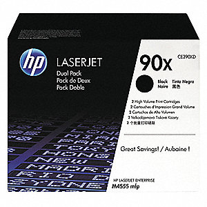 HP Toner Cartridge, No. 90X, Black