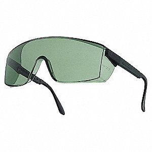 SAFETY GLASSES MID-GREEN A-S