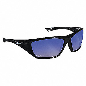 SAFETY GLASSES BLUE FLASH AS AFOG