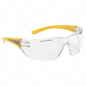 SAFETY GLASSES REFLECTIVE TEMPLES