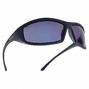 SAFETY GLASSES BLUE MIRROR A-S