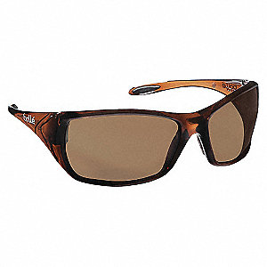 SAFETY GLASSES BROWN A-S A-FOG