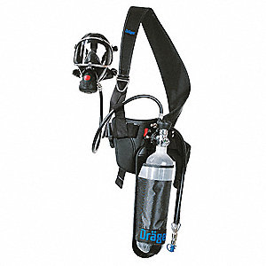 Escape SCBA for Mfr. No.4058698,Aluminum