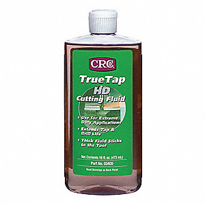 Liquid Cutting Oil, Base Oil : Straight Oil, 16 oz. Bottle