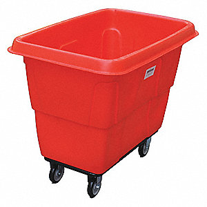 Cube Truck,MDPE,Red,14.0 cu. ft.
