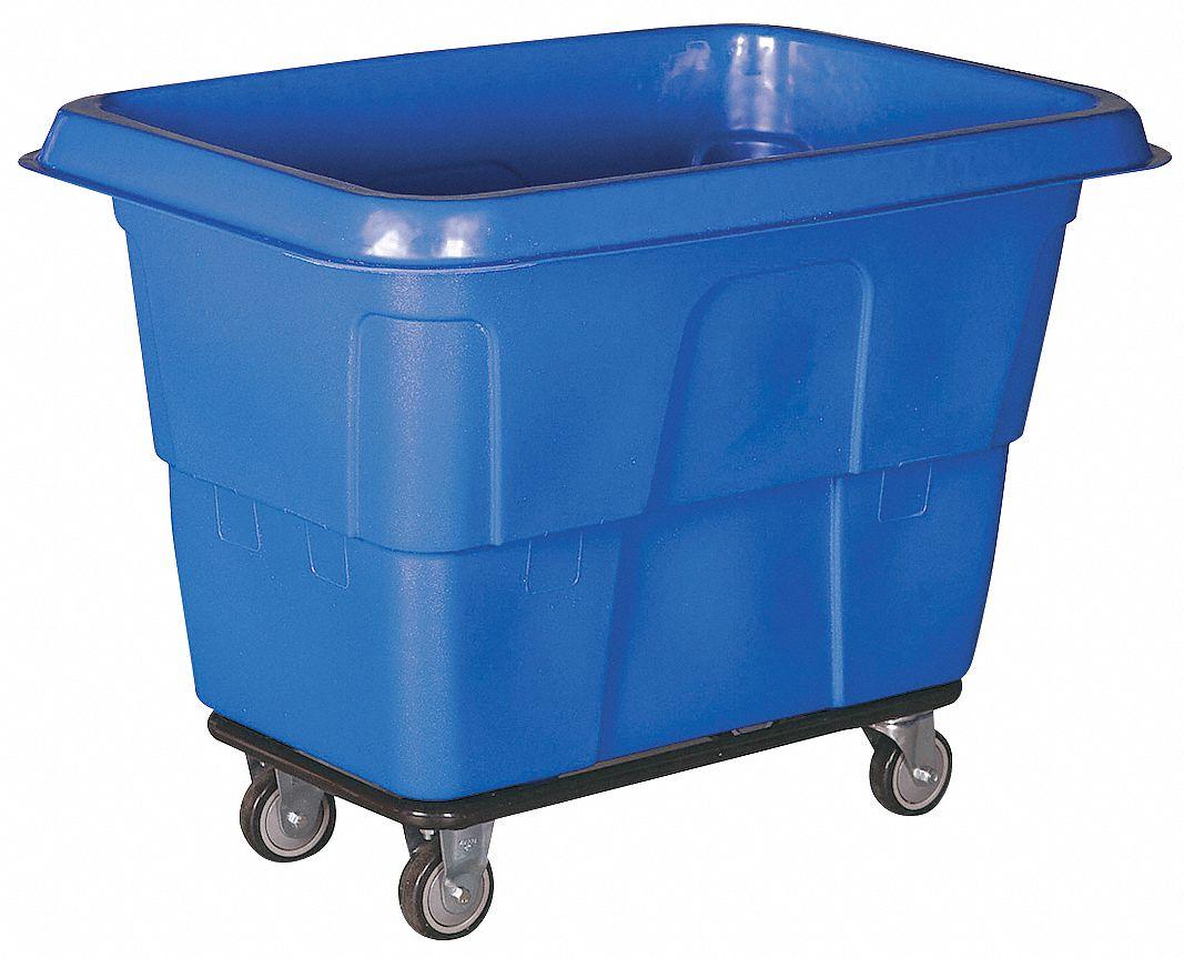GRAINGER APPROVED 1850-90 Caddy,Blue,Polypropylene