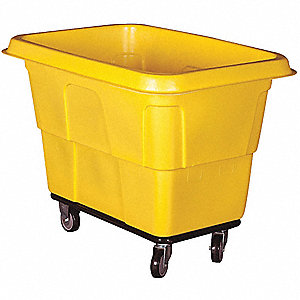 Cube Truck,MDPE,Yellow,16.0 cu. ft.