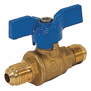 Gas Ball Valve,Flare x Flare,3/8in
