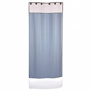 "93"" x 60"" Shower Curtain System"