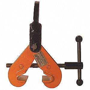 Beam Clamp,3000 lb,Vertical,3 to 7-1/2In