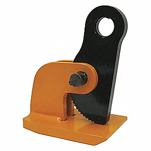 Plate Clamp,500 lb,Horizontal,PK2