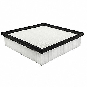 Air Filter,8-25/32 x 2-9/32 in.