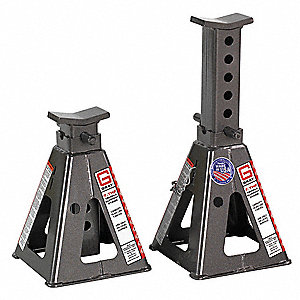 9 Pin Style Vehicle Stands&#x3b; Lifting Capacity (Tons): 7