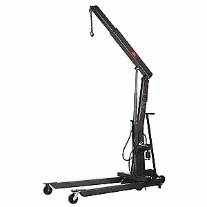 Floor Cranes,Air/Hydraulic,2200 Lb.