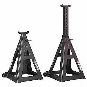 13 Pin Style Tall Vehicle Stands&#x3b; Lifting Capacity (Tons): 35