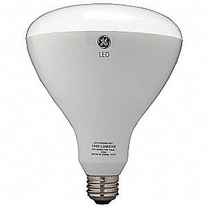 13.0 Watts LED Lamp, BR40, Medium Screw (E26), 1070 Lumens, 3000K Bulb Color Temp.