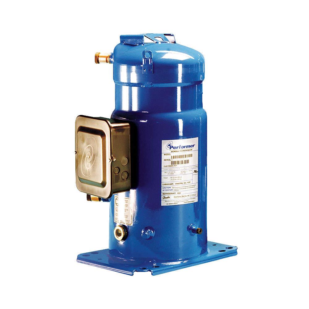 A/C Compressor, R22, 10 HP