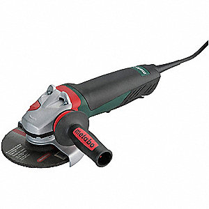 "12-Amp Paddle-Switch Angle Grinder with 5"" Wheel Dia."