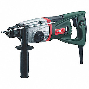 SDS Plus Rotary Hammer, 5.6 Amps, 0 to 4600 Blows per Minute, 120 Voltage