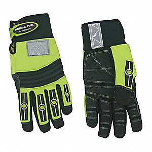 Utility Glove, Neoprene w/ TPR Hook and Loop Closure