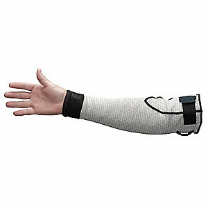 Cut Resist Sleeve,Without Thumbhole,18In