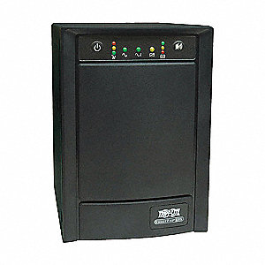 Line Interactive UPS System, 1.05kVA, 650.0W, 20 min./7 min. Backup Time