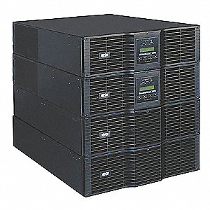 On-Line/Double Conversion UPS System, 16.00kVA, 14.40kW, 13.5 min./5.5 min. Backup Time