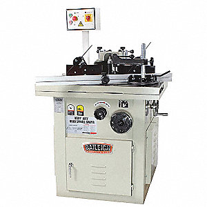 Heavy Duty Spindle Shaper,220V,32 in. W