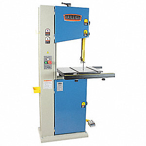 Vertical Band Saw,HP 1-1/2,110 V