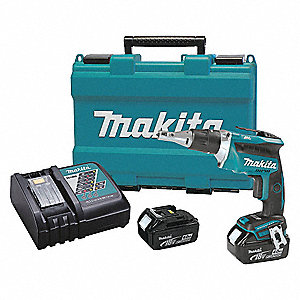 "1/4"" Cordless Screwgun Kit, 18.0 Voltage, Battery Included"